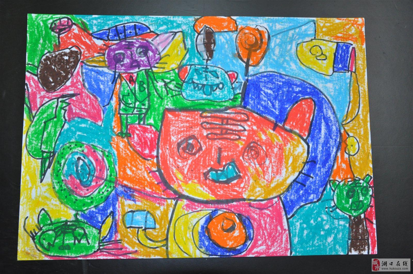 关于幼儿学画画这件事(一)