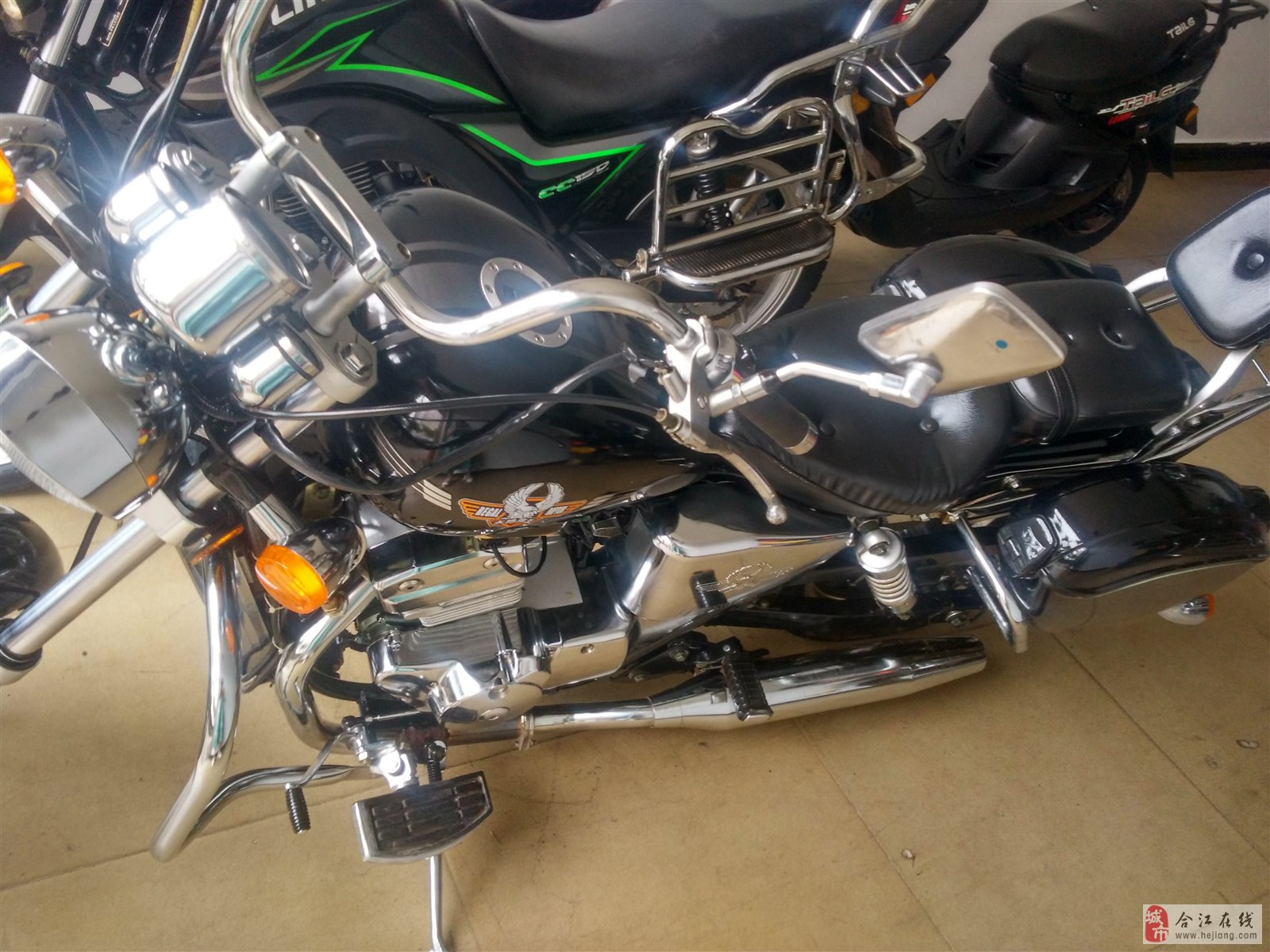 大地鹰王250摩托车