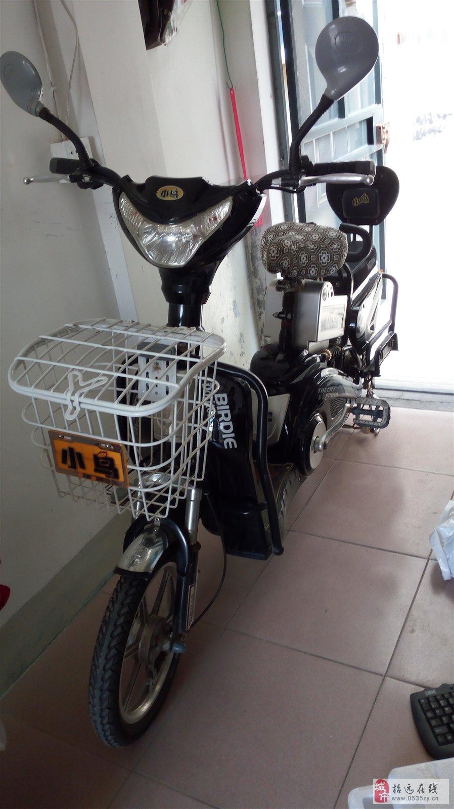 招远出售64伏黑色小鸟电动车