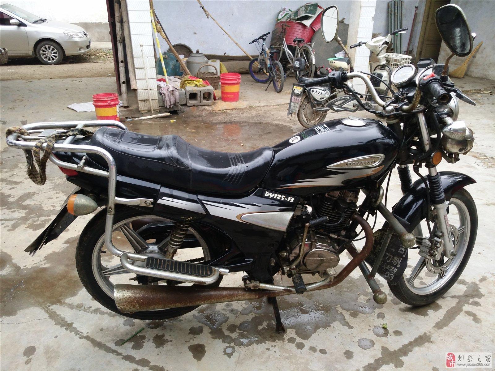 低价出售大阳125摩托一部