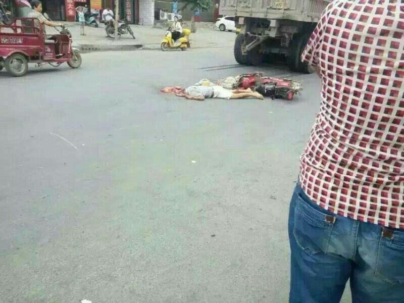 薛店镇发生重大交通事故