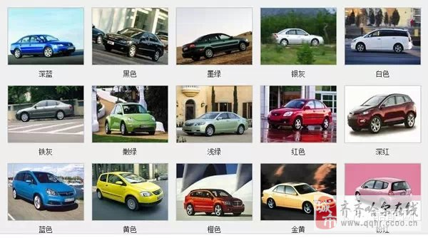 从汽车颜色了解车主性格,准啊!