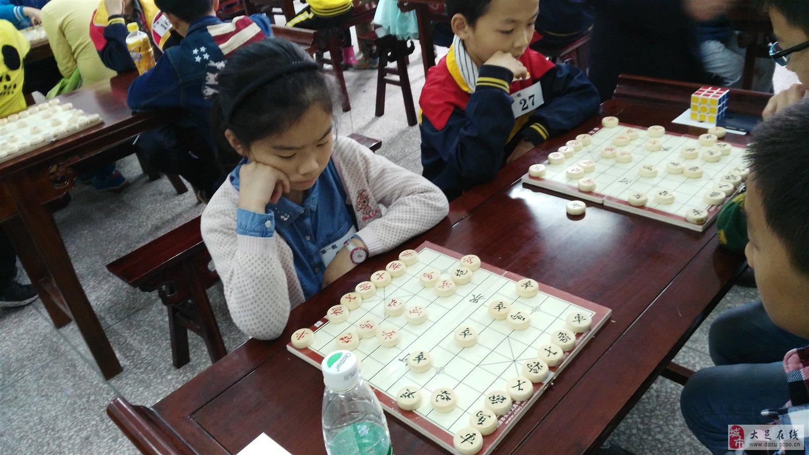 大足区第二届少年儿童象棋围棋比赛图片