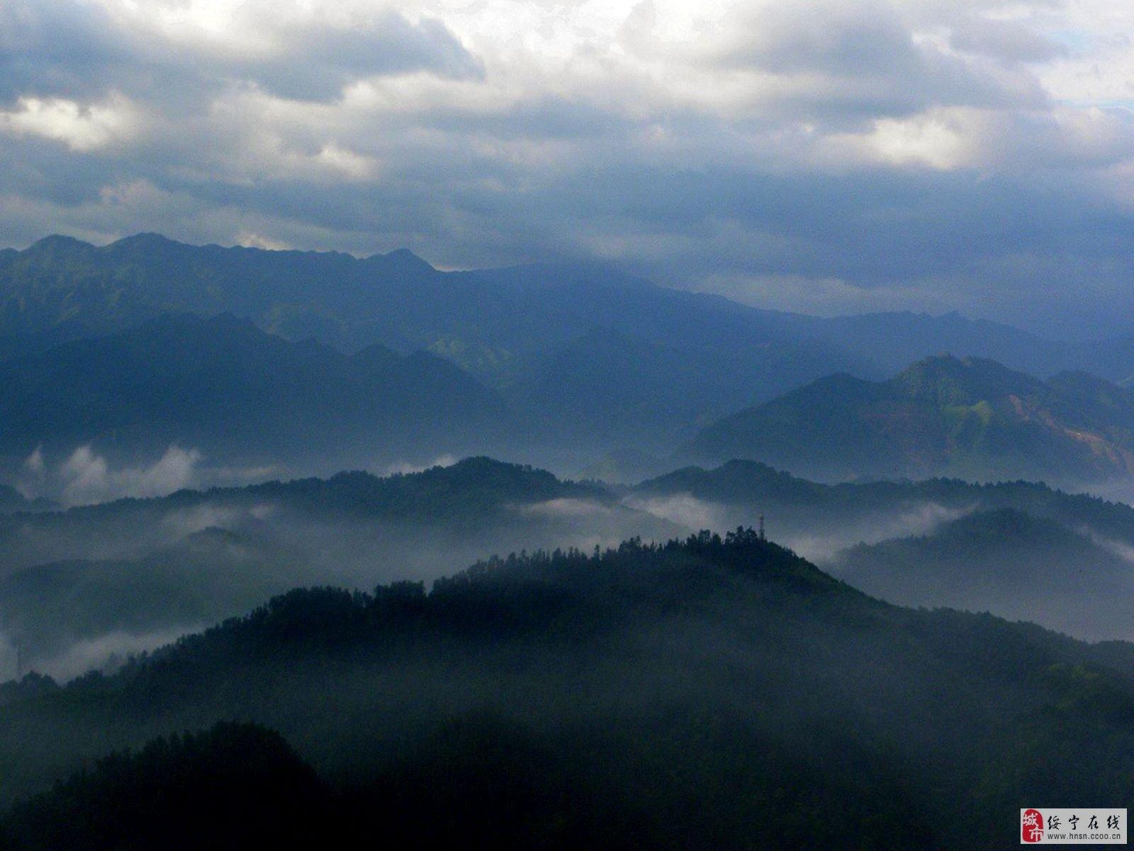 山水自然风景