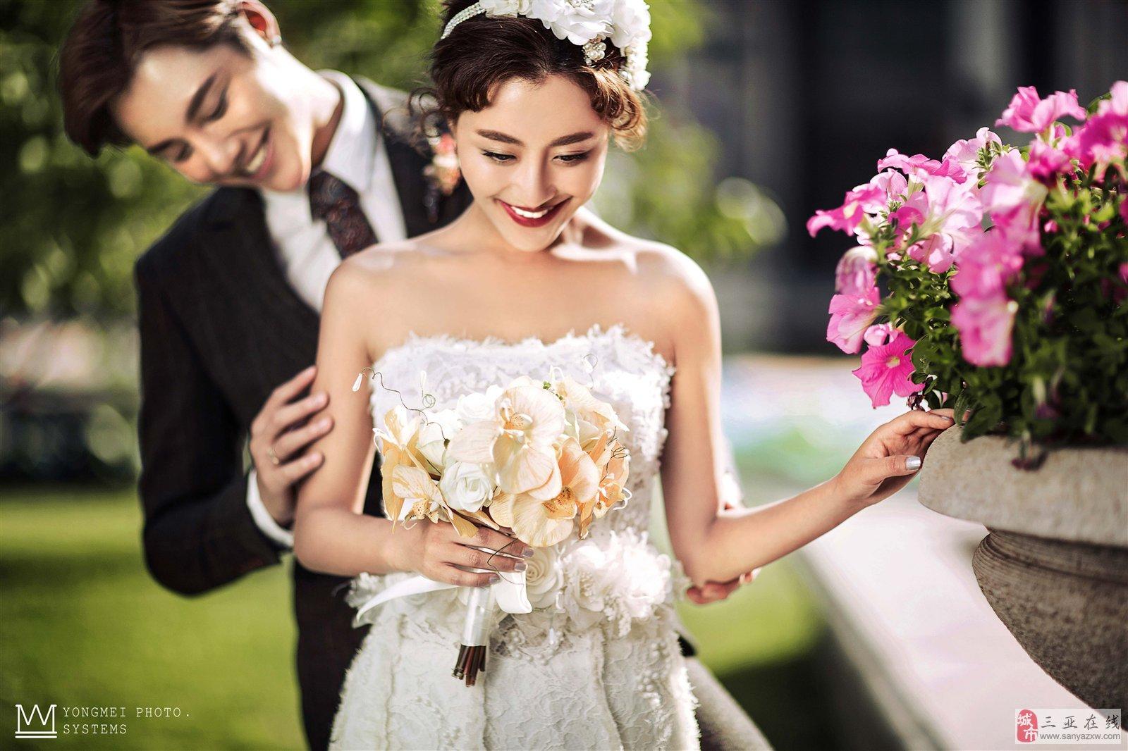 拍好小清新婚纱照的必要条件