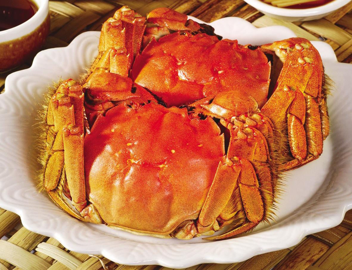 河蟹(清蒸、辣炒、葱姜)_美食街_通榆在线生理期可不可吃猪肝图片