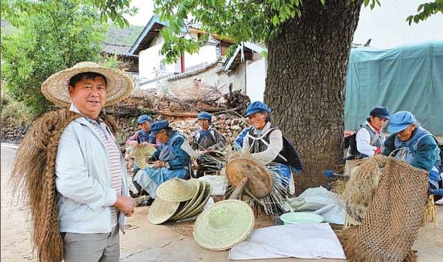 【丽江村落】古树环抱的玉龙县龙华村