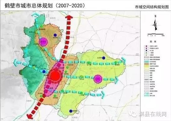 001市域城镇空间结构规划图