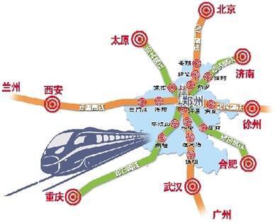 未来从郑州坐火车到济南只需1小时