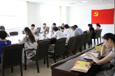 """中牟县审计局开展 """"两学一做""""学习教育专题党课"""