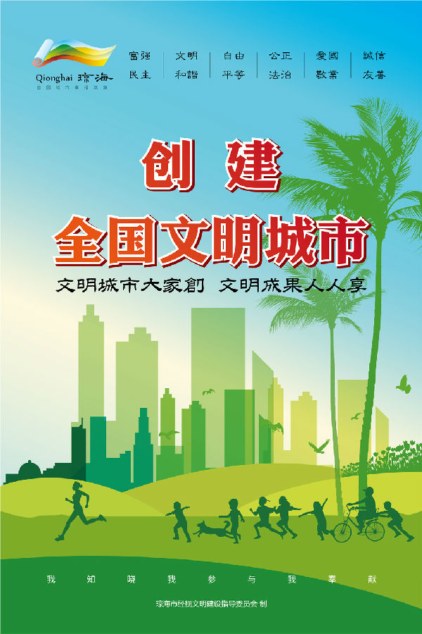"""对我市创建""""全国文明城市"""",巩固国家卫生城市,建设全国健康城市,创建"""