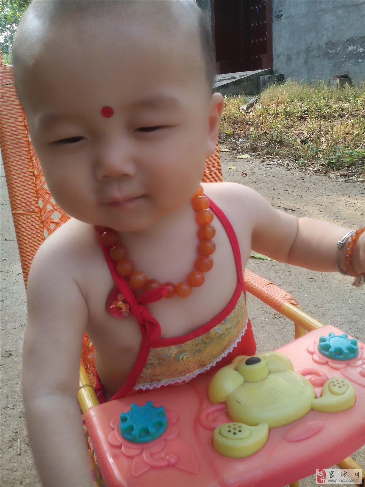 宝宝姓名:叶昊柠 宝宝寄语:好可爱的宝贝