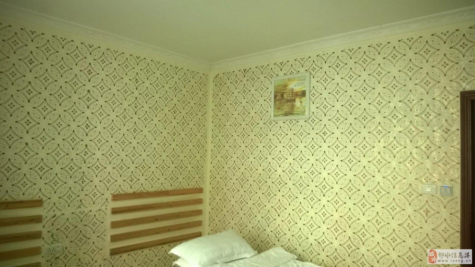 硅藻泥欧式印花跟墙布哪种好