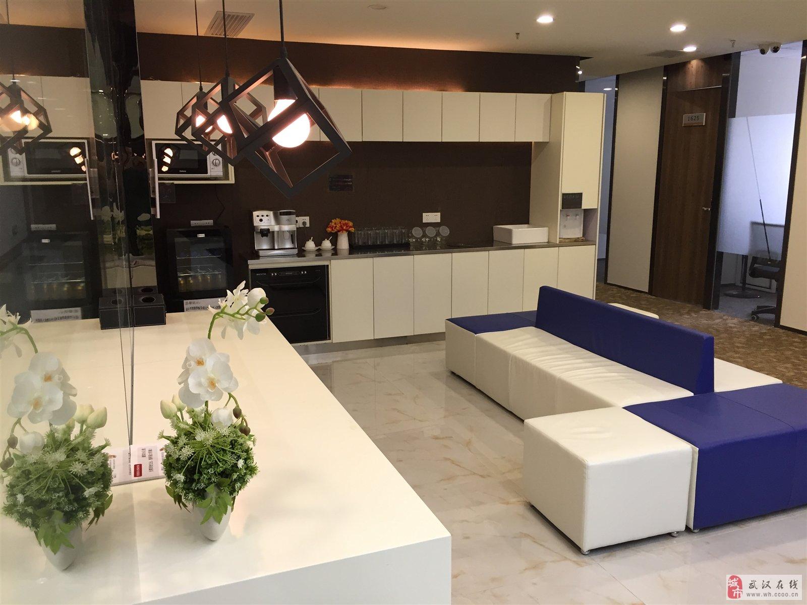 万达汉街精装修小型办公室独立可注册
