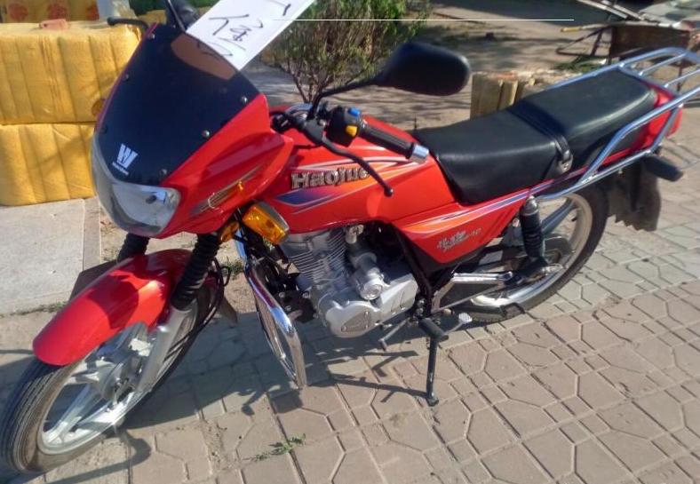 低价出售抵债豪爵125摩托车
