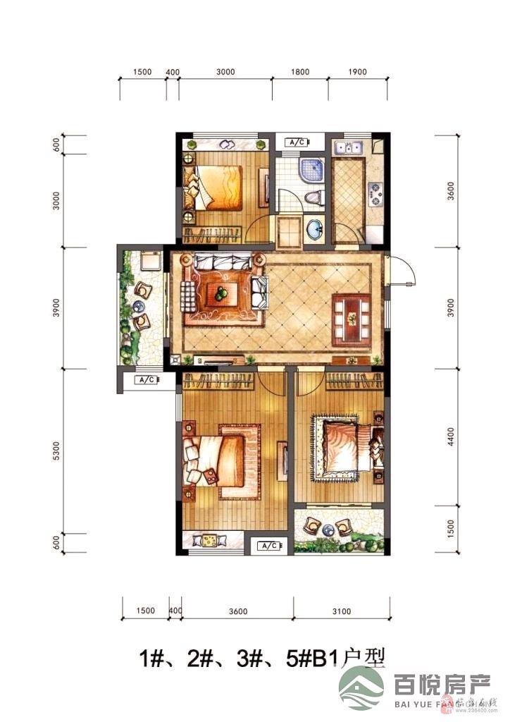 泉城经典送阁楼3室2厅1卫64万元