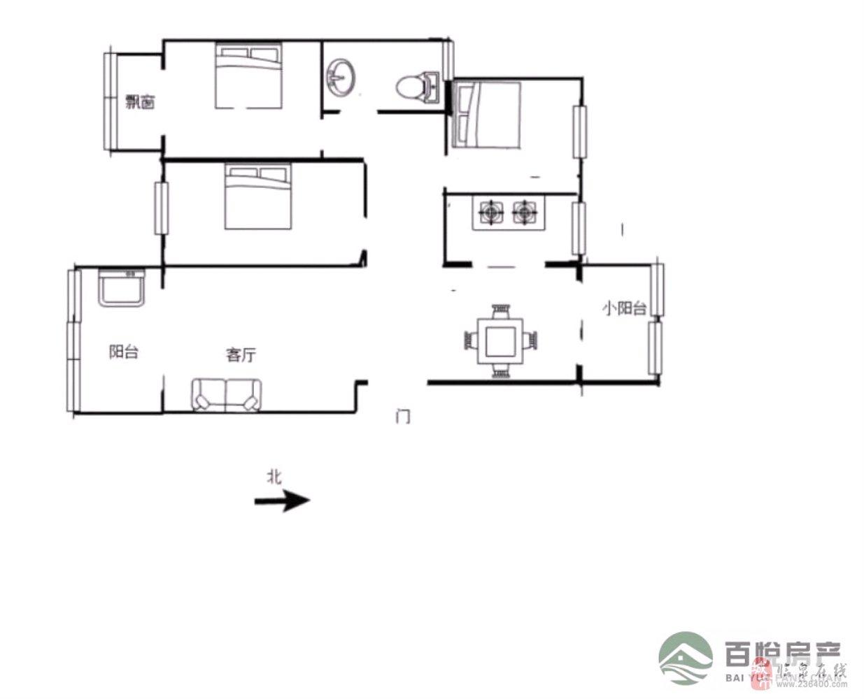 稀缺:皇家翰林静波低层三房+南北通透可按揭随时看房