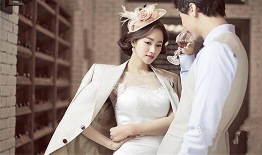 胖女孩婚纱照姿势 拍一组唯美浪漫结婚照