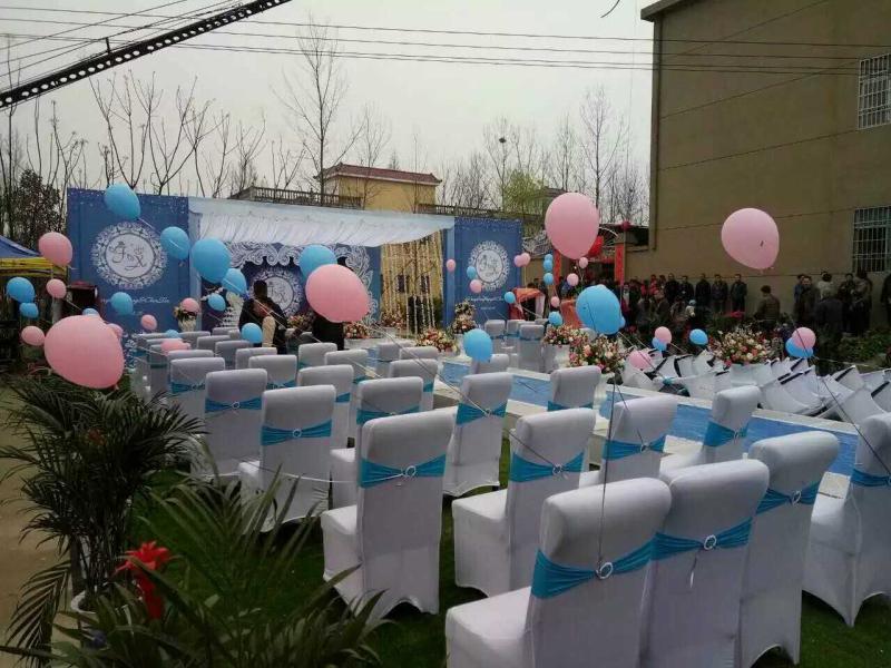 室外草坪浪漫主题婚礼
