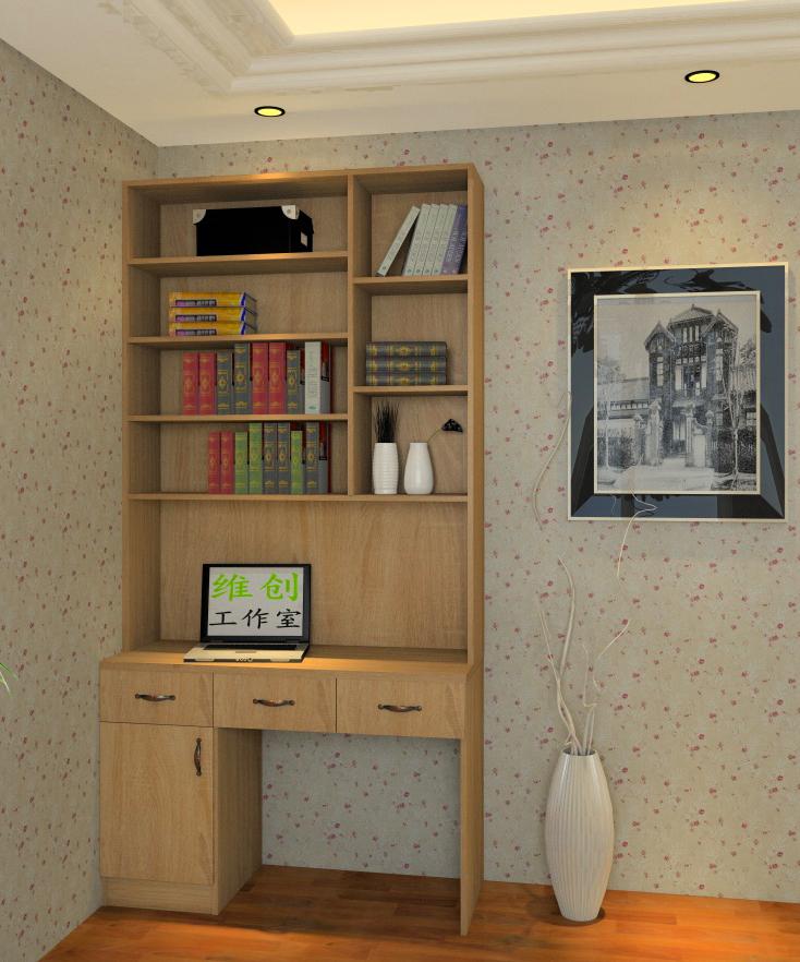 衣柜书柜书桌组合_衣柜书柜书桌组合图片素材