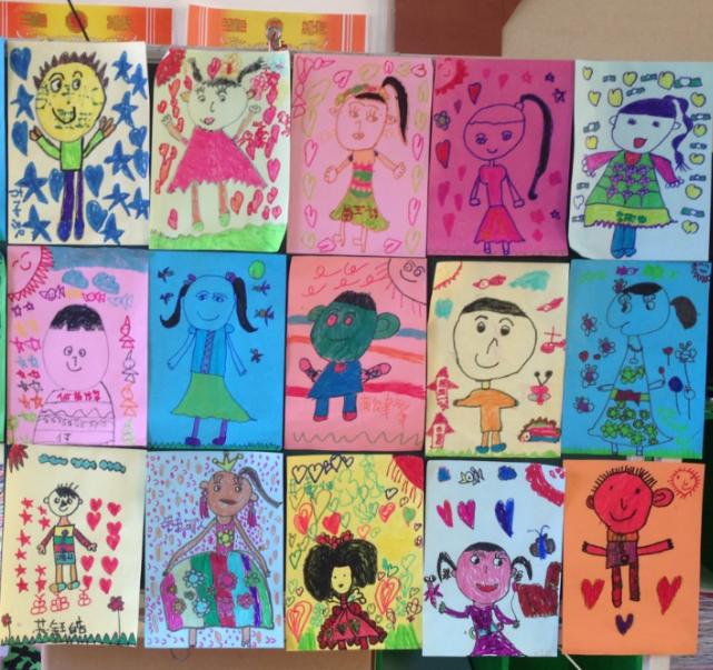 2,幼儿用书,油画棒  活动过程图片